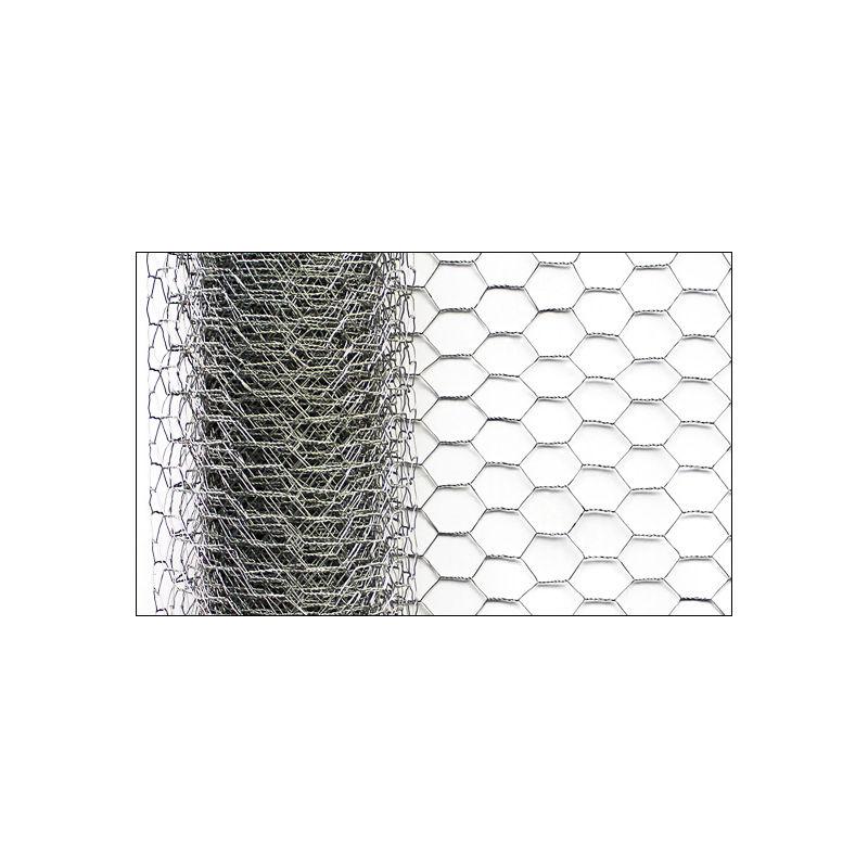 Drahtgitter Volierendraht 0,5x10m Kaninchendraht Maschendraht Zaun 6eck verzinkt