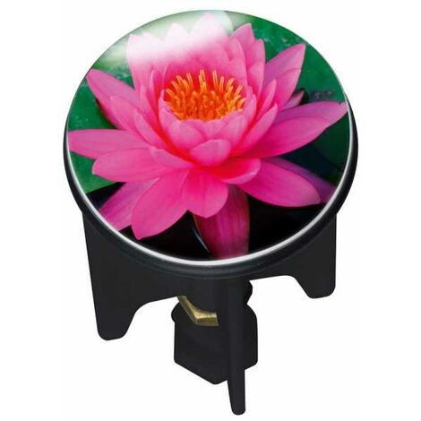 Drain plug Pluggy® Pink Lily WENKO