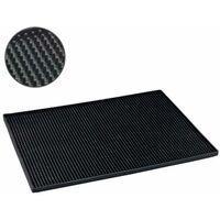 Draining mat Maxi 40x30 cm black WENKO