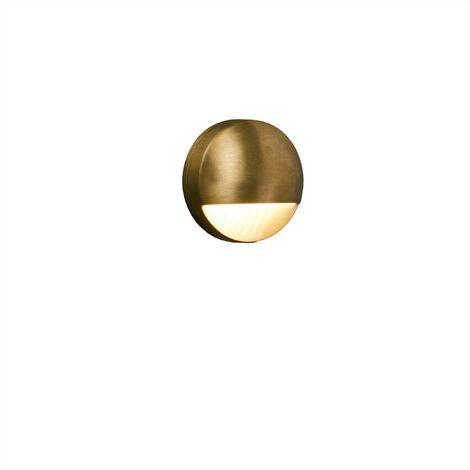 DRAK Aplique de pared exterior - Oro
