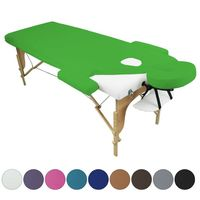 Drap housse de protection 4 pièces en éponge pour table de massage - Vivezen