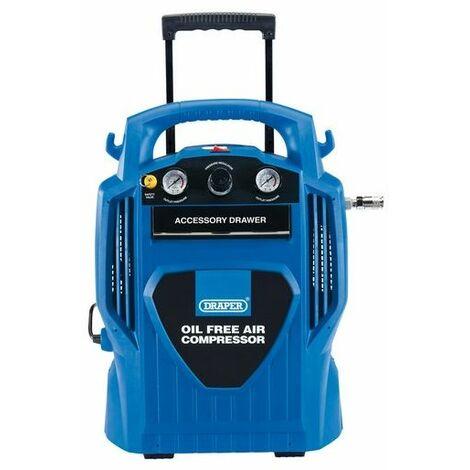 Draper 02116 6L Oil-Free Air Compressor (1.2kW)