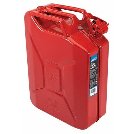Draper 08115 Red Steel Spout for 5/10/20L Fuel Cans