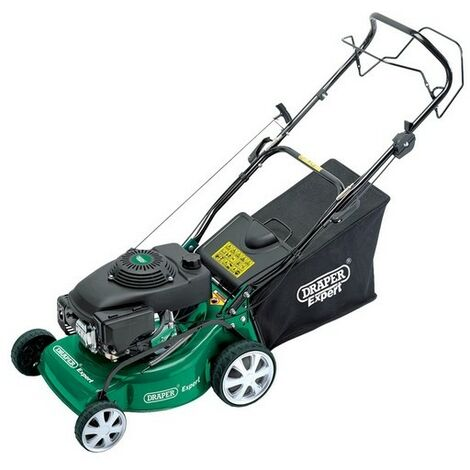 Draper 08400 Expert 135cc (4HP) 400mm Self-Propelled Petrol Mower