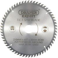 Draper 09478 Expert TCT Saw Blade 210X30mmx60T