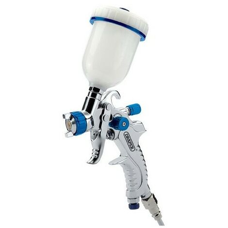 Draper 09708 100ml Gravity Feed HVLP Air Spray Gun