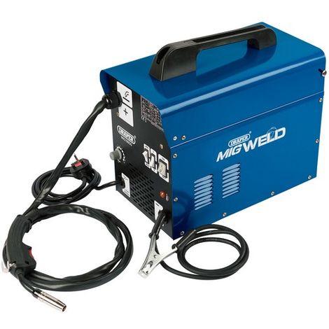 Draper 16057 230V Gas/Gasless Turbo MIG Welder (100A)