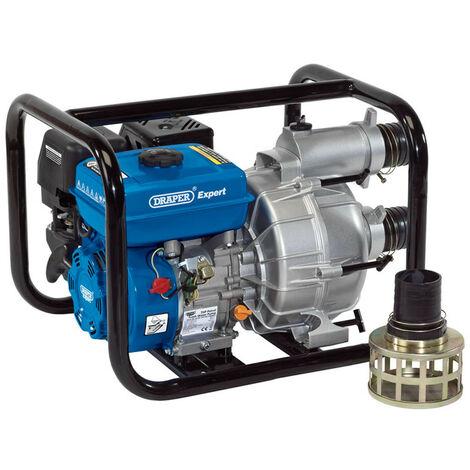 "main image of ""Draper 16128 750L/Min Petrol Trash Water Pump (7HP)"""