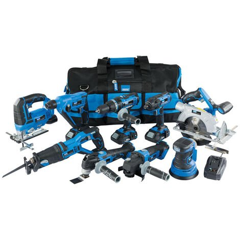 Draper 17763 Storm Force 20V Cordless Kit 9pcs