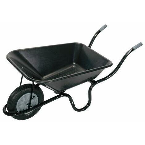 Draper 17993 Plastic Tray Wheelbarrow (85L)