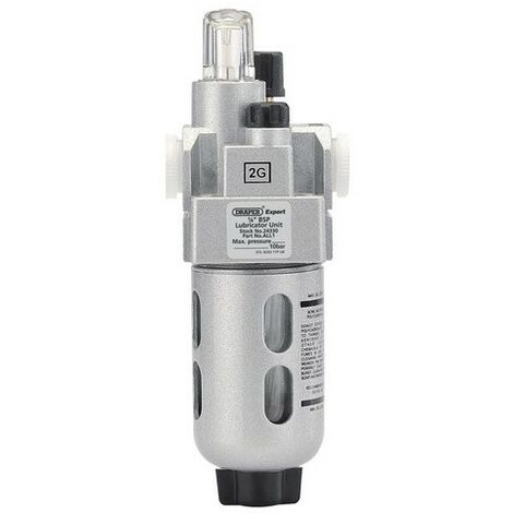 "Draper 24330 1/4"" BSP Lubricator Unit"