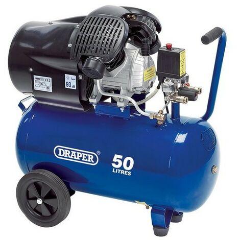 Draper 29355 50L 230V 2.2kW (3hp) Air Compressor