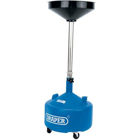 DRAPER 30L TELESCOPIC OIL DRAINER adjust upto 1.5m 23612