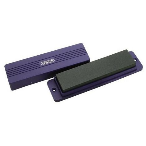Draper 31696 200 x 50 x 25mm Silicone Carbide Sharpening Stone with Box