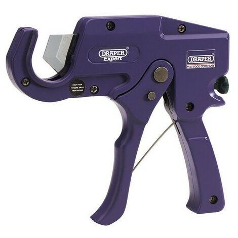 Draper 31985 expert 35mm capacity plastic pipe or moulding cutter