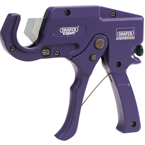 Draper 31985 expert 35mm capacity plastic pipe or moulding cutter