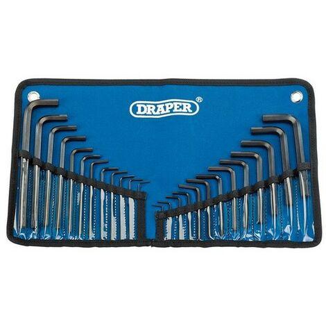 Draper Tools 33687 Metric Hexagon Key Set-10 Pieces
