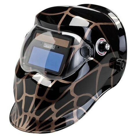 Draper 34358 Solar Powered Auto-Varioshade Welding and Grinding Helmet