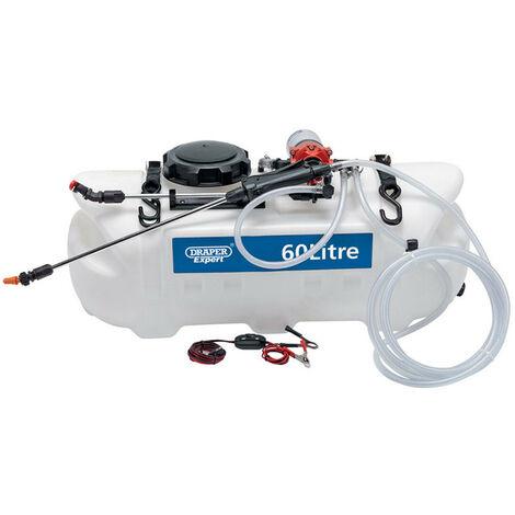 Draper 34676 12V DC ATV Spot/ Broadcast Sprayer (60L)