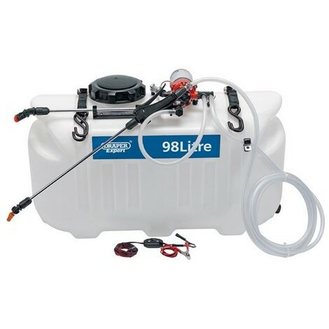 Draper 34677 Expert 98L 12V DC ATV Spot/ Broadcast Sprayer