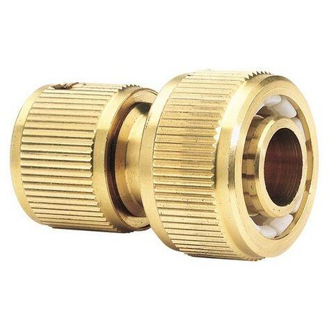 """Draper 36201 Expert Brass 3/4"""" Garden Hose Connector"""