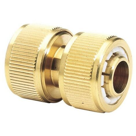 "Draper 36205 Expert Brass 3/4"" Hose Repair Connector"
