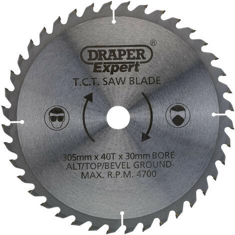 Draper 38150 TCT Saw Blade 305 x 30mm x 40T