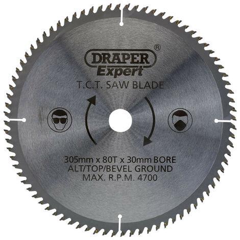 Draper 38152 TCT Saw Blade 305 x 30mm x 80T