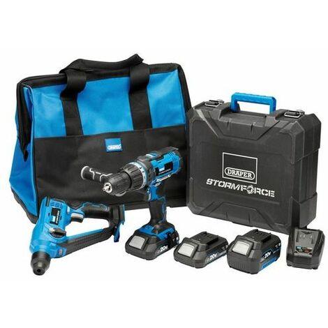 Draper 40429 Storm Force® 20V Cordless Kit (7 Piece)