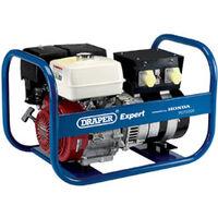 Draper 43729 Expert 7.5KvA/6.0Kw Petrol Generator