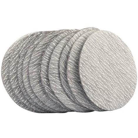 Draper 48207 75mm Aluminium Oxide Sanding Disc 600 Grit for 47617