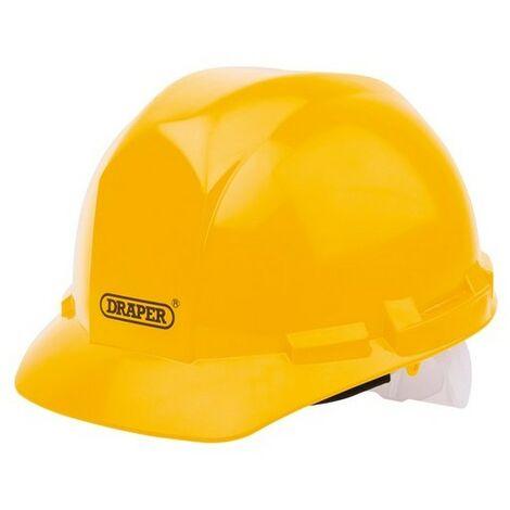Draper 51138 Yellow Safety Helmet to EN397