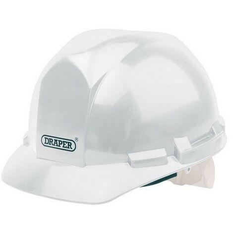 Draper 51139 White Safety Helmet to EN397