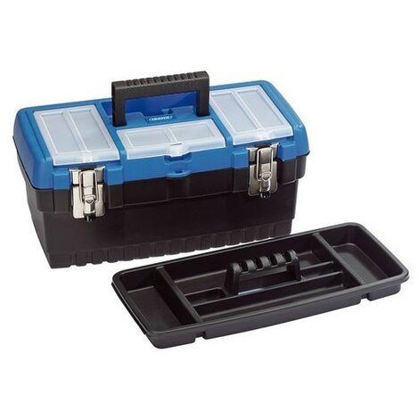Draper 53878 400mm Tool/Organiser Box with Tote Tray