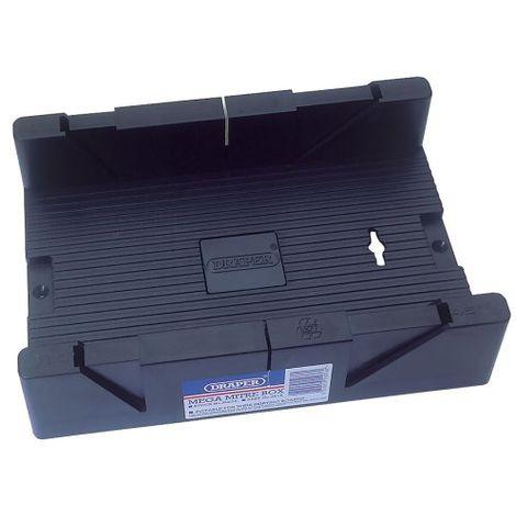 Draper 55076 - Mega scatola per sega per tagli obliqui, 325 x 180 x 60 mm
