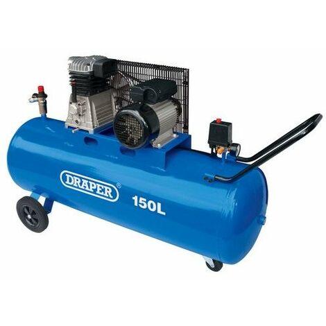 """main image of """"Draper 55305 150L Belt-Driven Air Compressor (2.2kW)"""""""