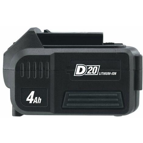DRAPER 55898 - D20 20V Li-ion Battery, 4.0Ah
