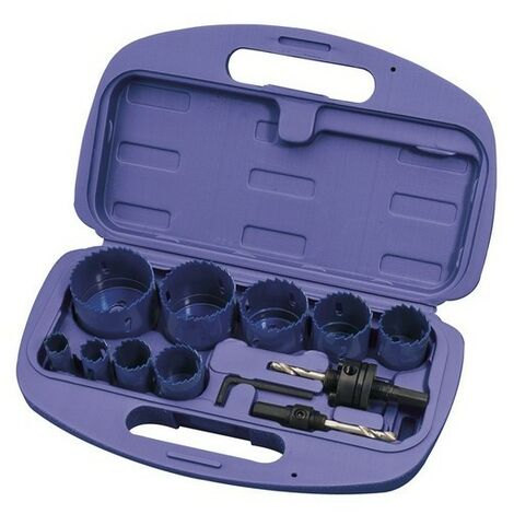 Draper 56385 Expert 12 Piece Holesaw Kit