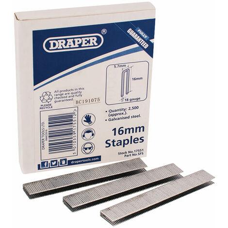 Draper 59836 16mm Staple (5000)