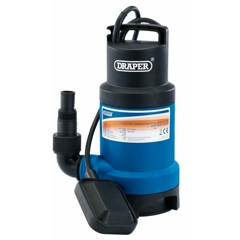 Draper 61667 200L/Min Submersible Dirty Water Pump with Float Switch (750W)
