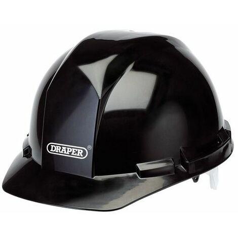 Draper 65706 Black Safety Helmet to EN397
