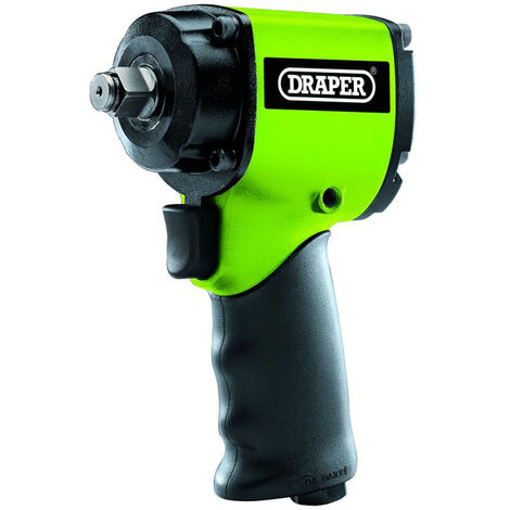 """Draper 67089 Stubby Composite Body Air Impact Wrench (1/2"""" Sq. Dr.)"""