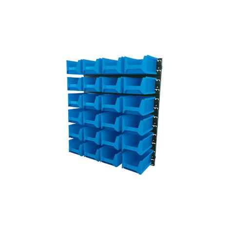 Draper 6797 24 Bin Wall Storage Unit (Large Bins)