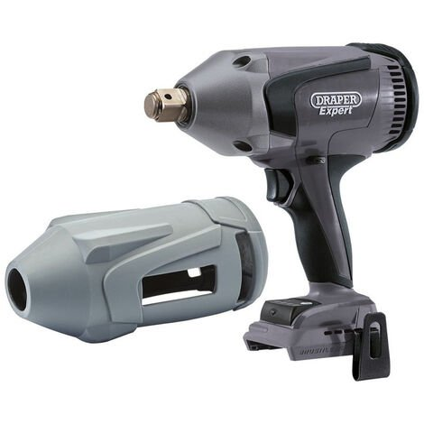 """Draper 68660 XP20 Brushless 3/4"""" Impact Wrench 1060Nm (Bare) + Protective Rubber Sleeve"""
