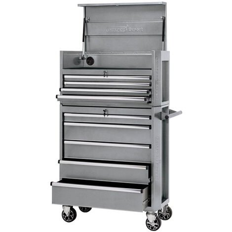 """Draper 70503 36"""" Combined Roller Cabinet and Tool Chest (9 Drawers)"""