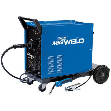 Draper 71092 230/400V Gas/Gasless Turbo MIG Welder (180A)
