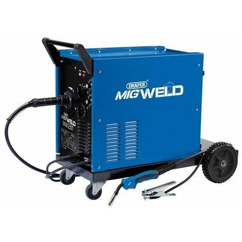Draper 71093 230/400V Gas/Gasless Turbo MIG Welder (220A)
