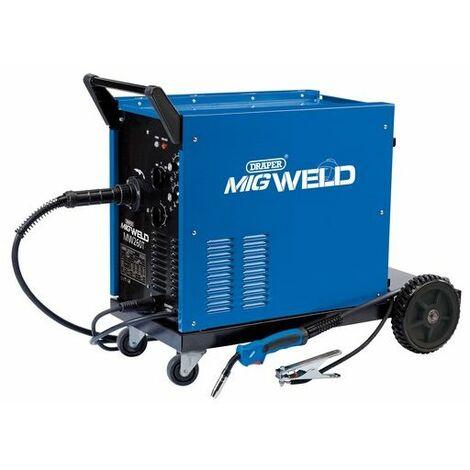 Draper 71094 230/400V Gas/Gasless Turbo MIG Welder (250A)