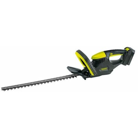 Draper 75291 18V Cordless Li-ion Hedge Trimmer with Battery Charger