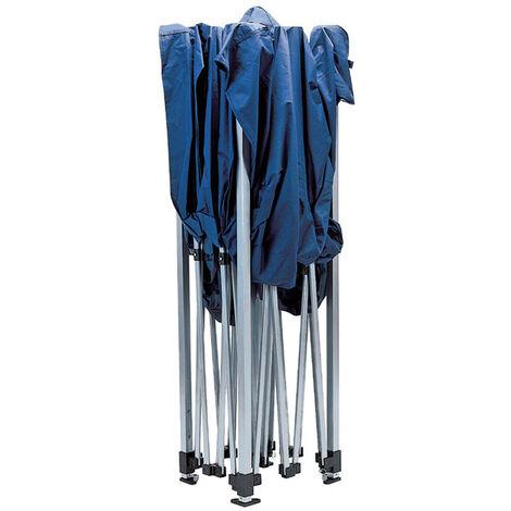 Draper 76942 Blue Folding Gazebo (3m x 3m)